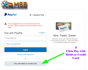 MSB email invoice payment