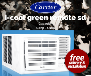 Carrier i-cool green remote sd