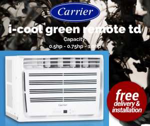Carrier i-cool green remote td