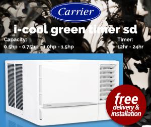 Carrier i-cool green timer sd