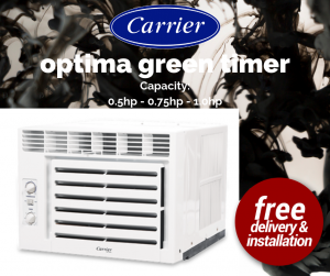 Carrier optima green timer