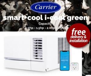 Carrier smart+cool series