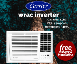 Carrier WRAC Inverter