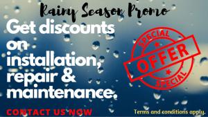Rainy Season Promo