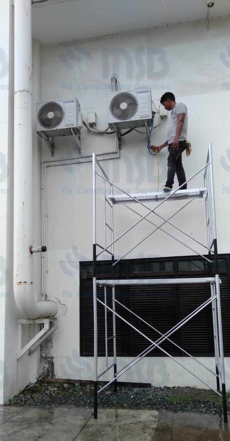 aircon reprocessing and freon charging