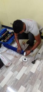 replacement of fan motor of wall mounted aircon