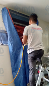 wall mounted aircon cleaning