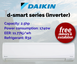Daikin D Smart Series