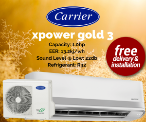 Carrier XPower Gold 3