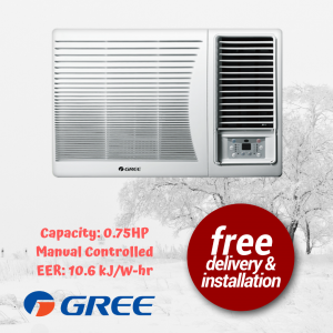 GREE window type aircon