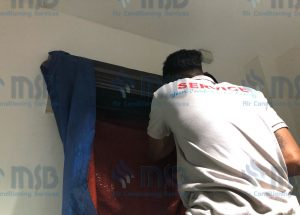 split type aircon cleaning
