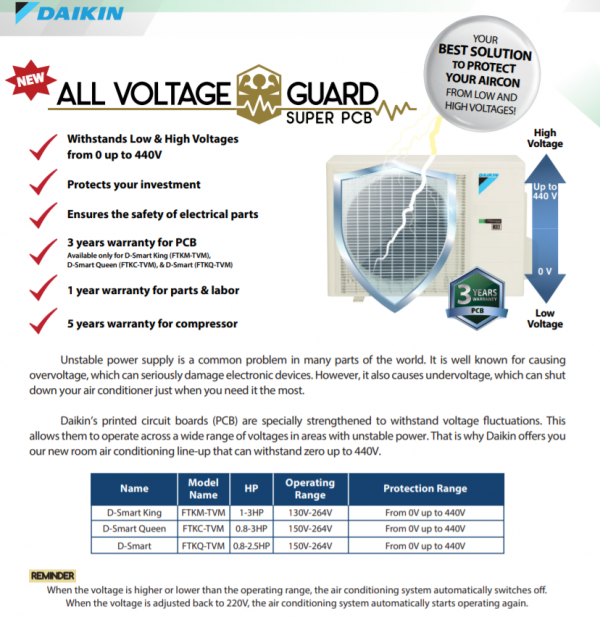all-voltage guard